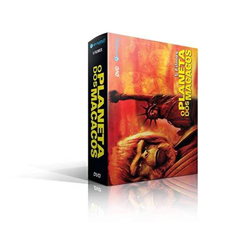 Box O Planeta Dos Macacos - 5 Filmes