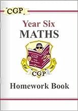KS2 Maths Homework Book - Year 6: Homework Book Pt. 1 & 2 by CGP Books (1999-10-12)