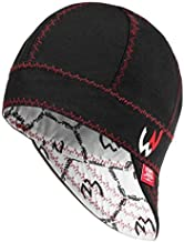 Welder Nation – 8 panel Welding Cap, durable, soft 10 oz cotton duck canvas, for safety and protection while welding. STICK ARC (7 5/8, Black)