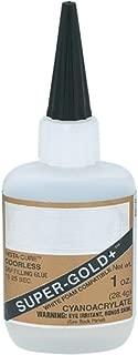 Super-Gold+ Odorless 1oz CA Adhesive Glue