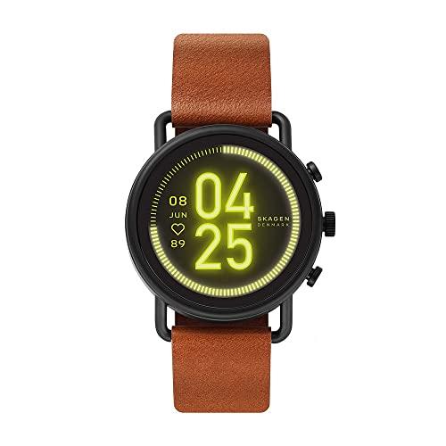 Skagen Smartwatch HR Falster 3 - Tracking der Herzfrequenz, Google Assistant, Smartphone Benachrichtigungen, Aktivitätstracking, Google Pay und GPS