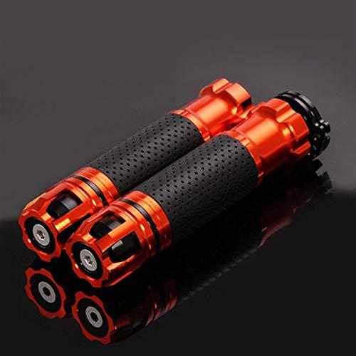 Apretones de Manillar Moto, Universal 7/8'22mm CNC Moderny Moderny Handle Handle Handle Motorbike Handlebar Agarra 6 Colores para la opción (Color : 3)