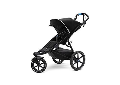 Thule Urban Glide 2 Jogging Stroller, Black/Black Frame (10101923)