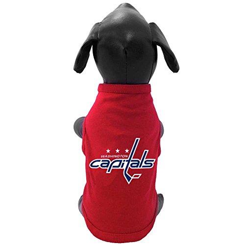 All Star Dogs NHL Unisex Tanktop mit Aufschrift Capitals, Unisex, rot, Tiny
