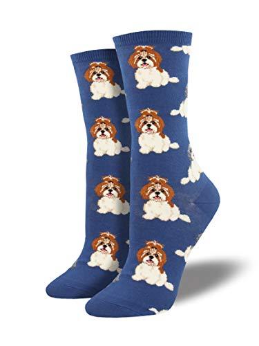 Socksmith I Shih Tzu Not Blue One Size