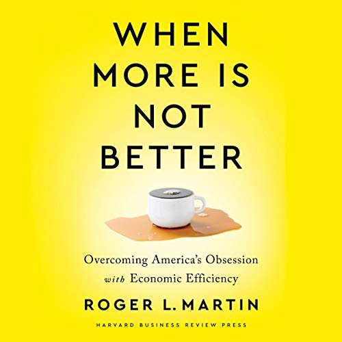 When More Is Not Better cover art