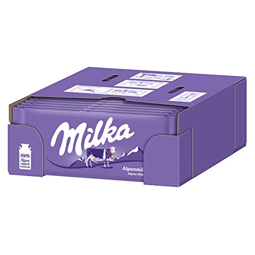 Milka Alpine Latte, 24er Pack (24x 100G)