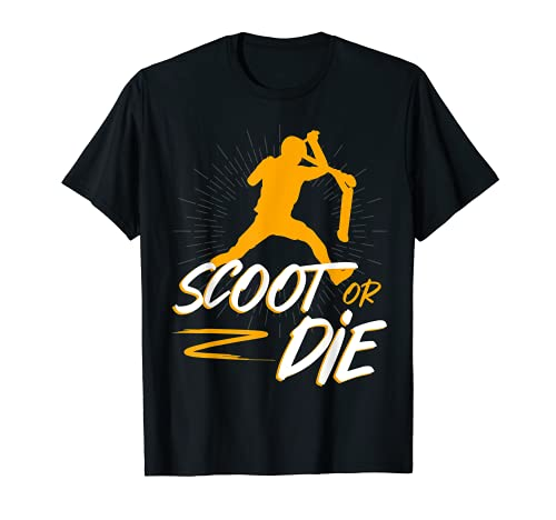Scoot or die Stunt Roller Camiseta