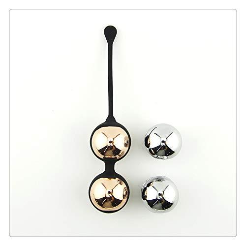 Z-one 1 Kegel Balls para mujeres Apriete - 4 Bolas de metal Bolas de Ben Wa de silicona premium para principiantes y avanzados -Dr Recomienda Control de la vejiga y pesas Kegel para el suelo p¨¦lvico