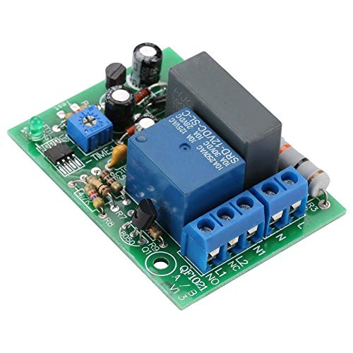 Rockyin 220VAC Delay Timer Switch Module Regolabile Timing Spegnere Board (0~10Hr.)