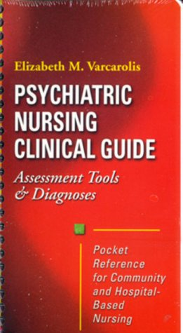 Psychiatric Nursing Clinical Guide: Assessment Tools & Diagnosis