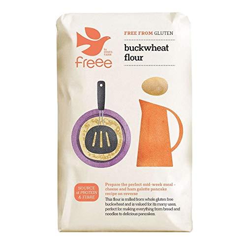 Buckwheat Flour Gluten Free Doves Farm 1kg