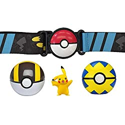 Become a Pokemon Trainer with the Clip N Go Poke Ball Belt! Each belt can hold up to 6 Poke Balls at once. Set includes everything you need to start a collection. Officially licenced Pokemon toy!