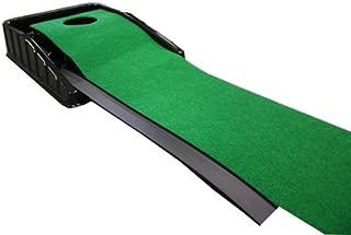Putting Green Golf Putt Practice Mat Auto Ball Return 7' Long