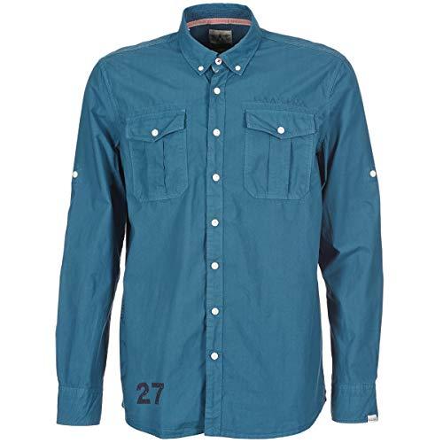 Gaastra Vane Hemden Herren Blau - S - Langärmelige Hemden