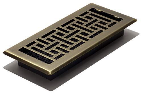 Decor Grates AJH410-A Oriental Floor Register,...