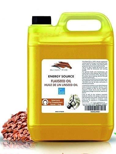 Aceite de Linaza para Caballos y Mascotas 10000 ml 100% Natural Suplemento para la Salud y la Forma