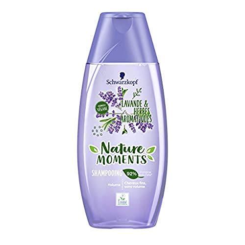 petit un compact Nature Moment – Shampooing volume – Cheveux fins sans volume – Lavande et herbes aromatiques 250 ml