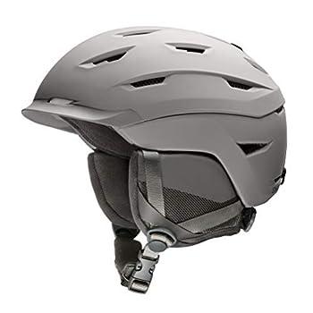 Smith Men s Level Snow Helmet Matte Cloudgrey L