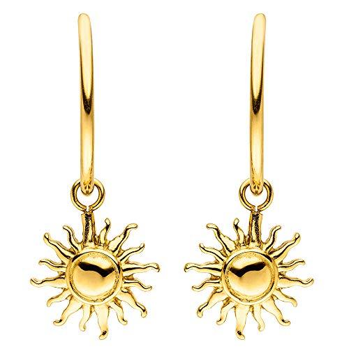 PURELEI® Sun Ohrringe (Gold, Vergoldet)