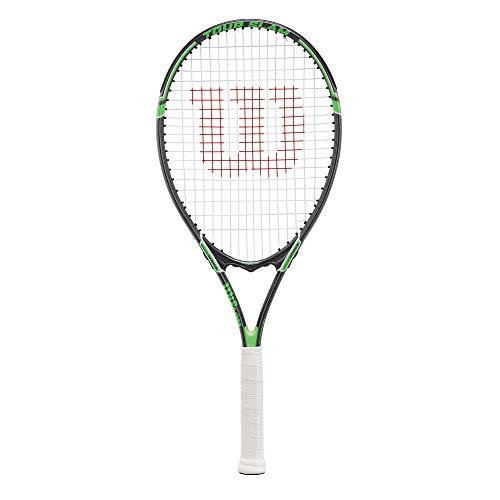 """Wilson Tour Slam Adult Strung Tennis Racket, 4 1/2"""" - Green"""