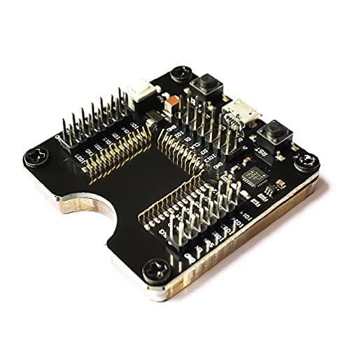 Herramienta de programador de zócalo eléctrico ESP32 Adaptador Socket para ESP-WROOM-32 Módulo Micro USB Tipo B Plug Prueba Junta Socket Programador Herramienta