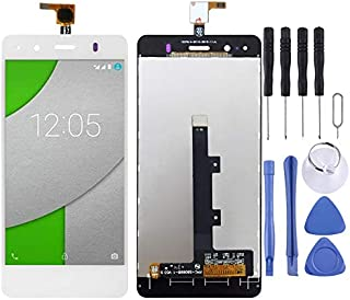 LDK Pantalla Juego de Repuesto for BQ Aquaris A4.5 (Negro) Pantalla LCD táctil digitalizador Asamblea Completa + Herramienta de reparación Completa (Color : Blanco)