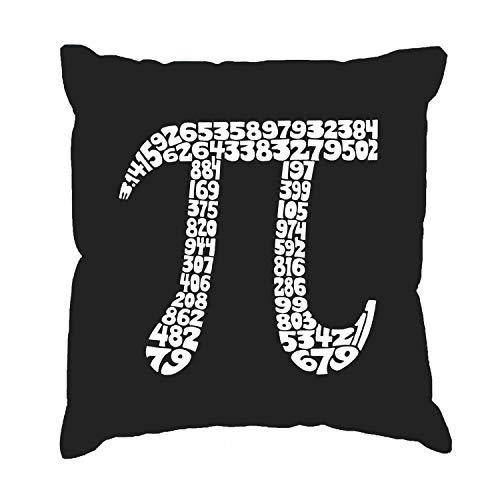 Gooi kussen Cover Word Art De eerste 18 0 cijfers van Pi