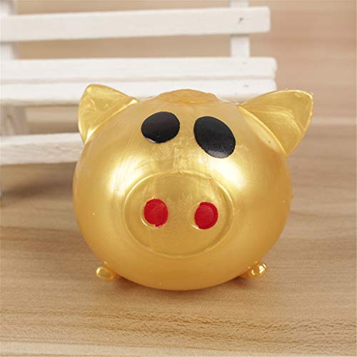 suoryisrty Splat Ball Pig, Juguete para niños Splat Ball Colorido, Libre de estrés, Alivio del Autismo Smiley Pigs