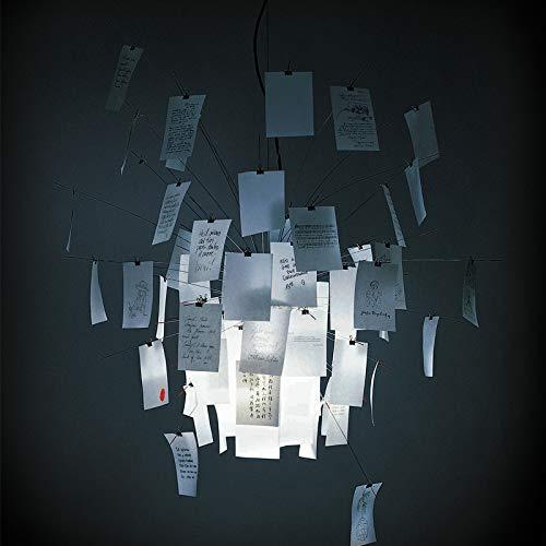 Dia 47.24' Moderna suspensión de la lámpara Pendiente Ingo Zettel'z 5 Papel Zettel for el Dormitorio Comedor Sala de Estar Pendiente de la luz PA0062