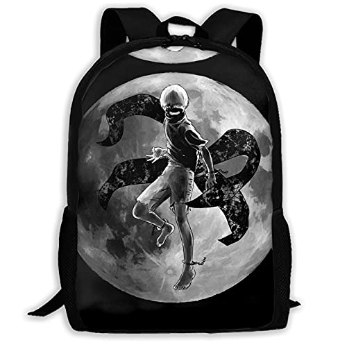 Tokyo Ghoul Adult Backpack Unisex Polyester Casual Backpacks Travel School Game Bag