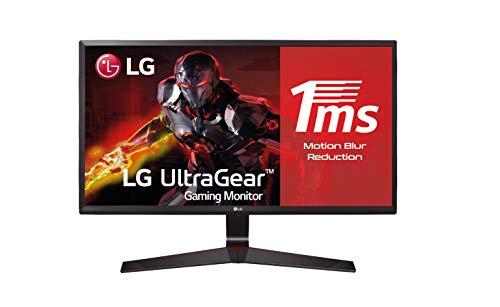 """LG 24MP59G-P - Monitor Gaming de 60,4 cm (23,8"""") Full HD (1920 x 1080, IPS, 16:9, DisplayPort x1, HDMI x1, D-SUB x1, AUX"""
