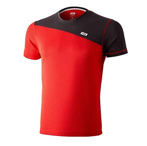42K RUNNING - Camiseta técnica 42K Atria para Hombre Aurora Red XS