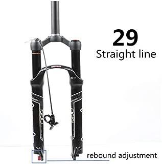 MEFORE Magnesium Alloy MTB Air Suspension Fork 27.5/29ER Mountain Bike Front Fork Rebound Adjustment SR Suntour EPIXON