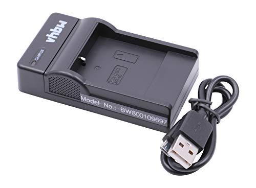 vhbw USB Akkuladegerät kompatibel mit Jay-Tech Videoshot DDV-R8, Full-HD 12z Digitalkamera, Camcorder, Action Cam-Akku - Ladeschale