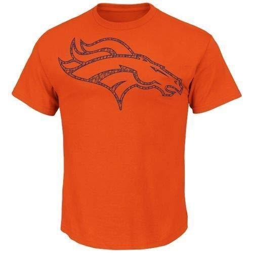 Majestic NFL Football T-Shirt Denver Broncos Fantasy Leader (XXL)