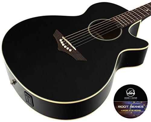 VGS Akustikgitarre RT-S Root, Black