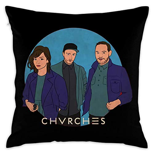 Chvrches The Bones of What You Believe Decorative Reading Pillow Covers Case Pillowcases Kissenbezüge (65cmx65cm)