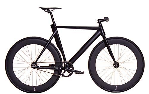 FK Cycling Bicicleta Fixie Aluminio derail rd70 Negra (M 520)