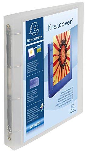 Exacompta 51568E Raccoglitori Personalizzabili Kreacover