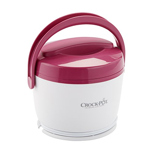 Crock-Pot SCCPLC200-PK SCCPLC200PK-NP Lunch Crock Food Warmer, Pink, 20oz