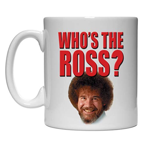 Bob Ross Who's the Ross 15oz Coffee Mug