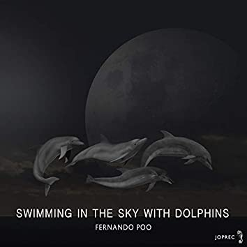 Swimming In The Sky With Dolphins