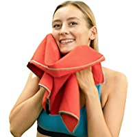 2-Pack Winthome Microfiber Towel for Gym & Beach & Travel