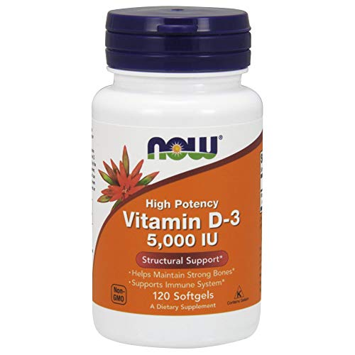 Now Foods, Vitamin D-3, Highest Potency,...