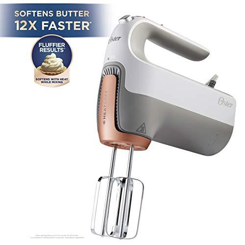 Oster 270-Watt Hand Mixer with HEATSOFT Technology