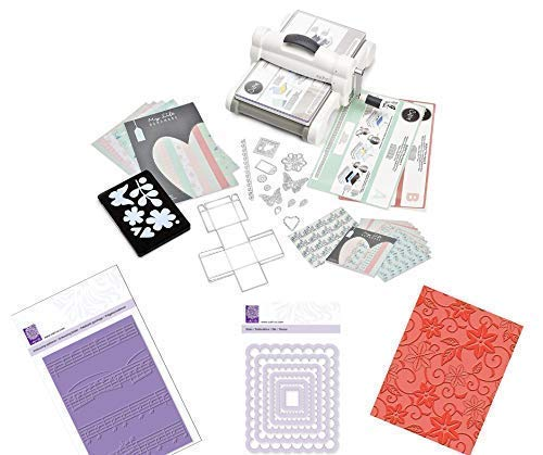 Sizzix Big Shot Plus Starter Kit Mit 3 Adicional Estampado y Prägetools