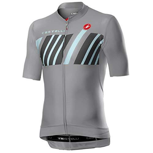 castelli Herren Hors Categorie Shirt, Vortex Gray, M