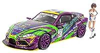 POP RACE 1/64 エヴァRT初号機 GR Supra D1 Grand Prix Series 2020 with Race Queen F...