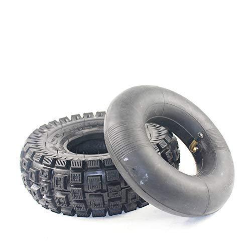 DGHJK Neumáticos de Scooter eléctrico, Tubo Interior de neumático 3.00-4 para Scooter de Gasolina eléctrico con neumático de Carretera de 11 Pulgadas